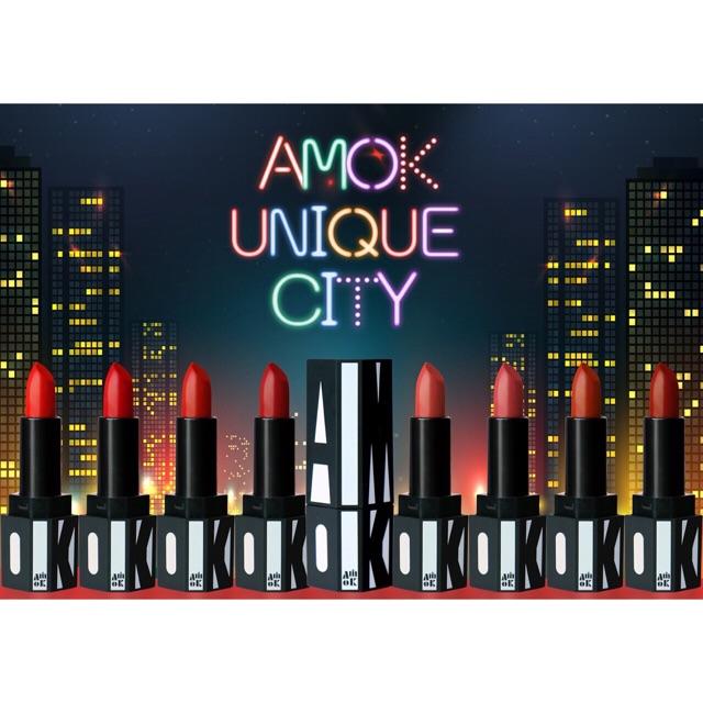 Son Amok Unique City Technical Matte Lipstick