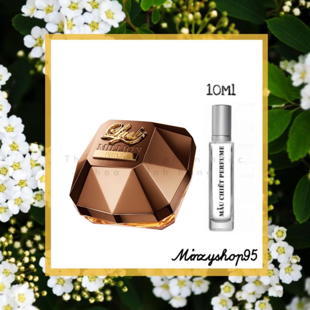 Nước hoa nữ chính hãng Paco Rabanne Lady Million Prive Eau de Parfum Test 10ml/20ml