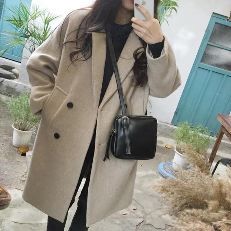 [Order] Áo khoác dạ nữ ulzzang thời trang cao cấp