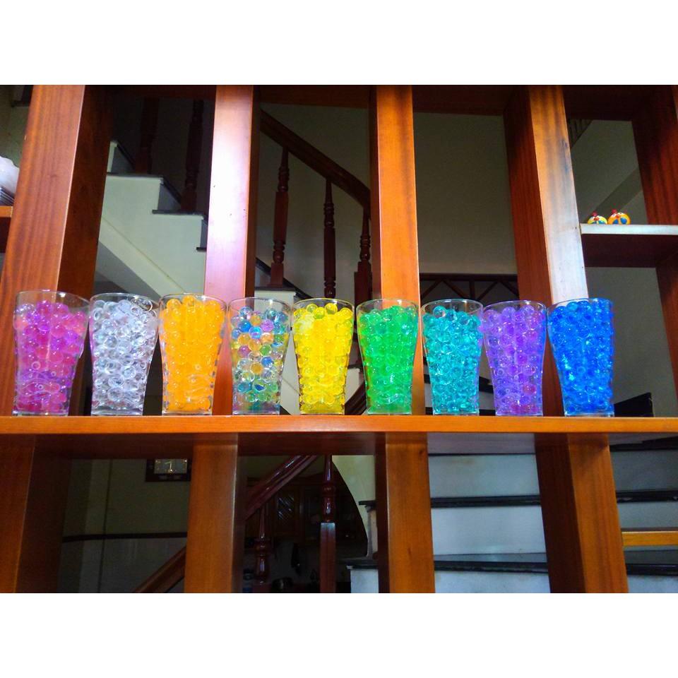hạt nở đan thạch gói 100gram hạt nở nhiều màu mã LRJ13