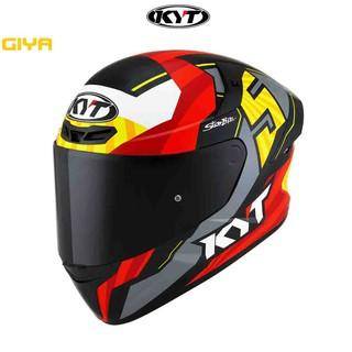 Mũ bảo hiểm fullface KYT TT chính hãng tem Flux size M L XL