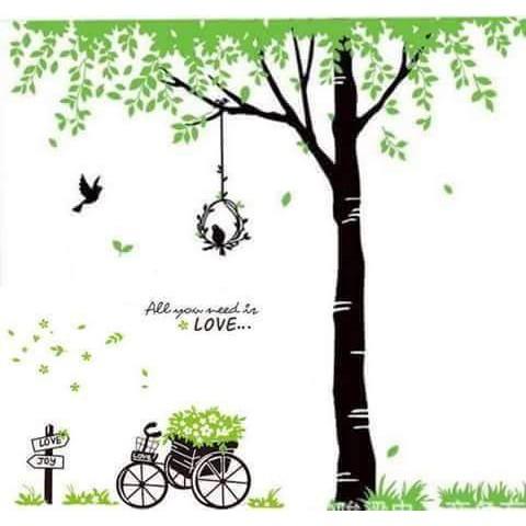 Decal dán tường combo xe hoa và cây xanh tươi - 3126700 , 1053101484 , 322_1053101484 , 110000 , Decal-dan-tuong-combo-xe-hoa-va-cay-xanh-tuoi-322_1053101484 , shopee.vn , Decal dán tường combo xe hoa và cây xanh tươi