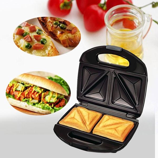 Máy nướng bánh nikai đen