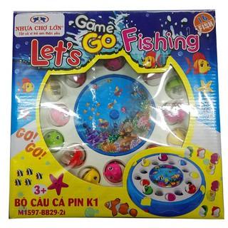 [Đồ chơi an toàn] Bộ câu cá pin K1 – M1597-BB29-2I [Hàng VN chất lượng cao]