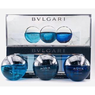Bộ 3 chai nước hoa Bvl The Aqua Pour Homme Travel Collection 3 x 15ml thumbnail