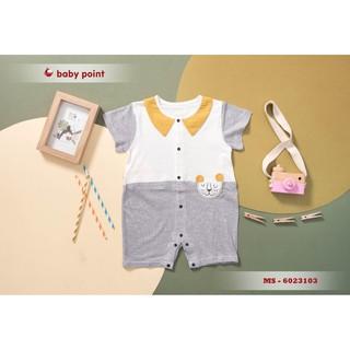 Hàng hè 2020 Bodysuits BabyPoint cho bé size 3m - 2y, dành cho bé từ 4kg đến 13kg, chất cotton mềm mịn