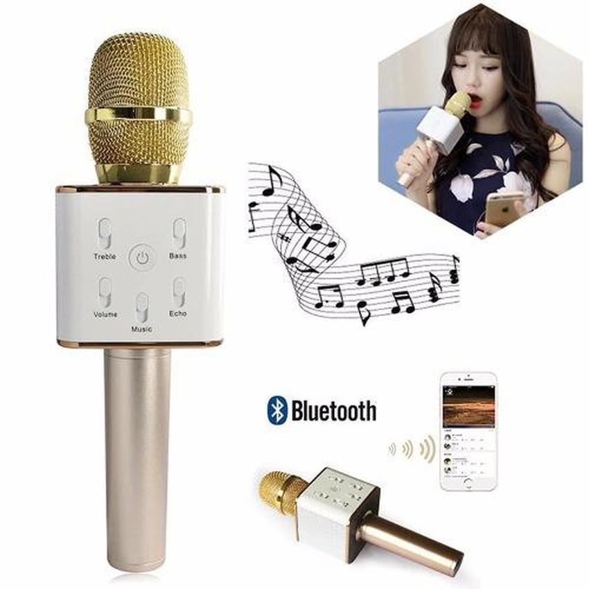 Micro karaoke tích hợp loa Bluetooth Gicoly Q7