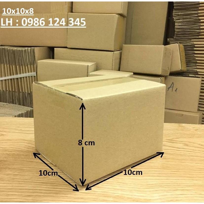 Combo 160 hộp Carton 10x10x8
