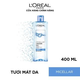Hình ảnh Nước tẩy trang cho mọi loại da L'Oreal Paris 3-in-1 Micellar Water 400ml-3