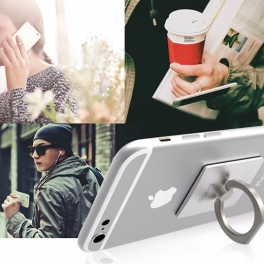 Giá đỡ điện thoại hình chiếc nhẫn Iring inox