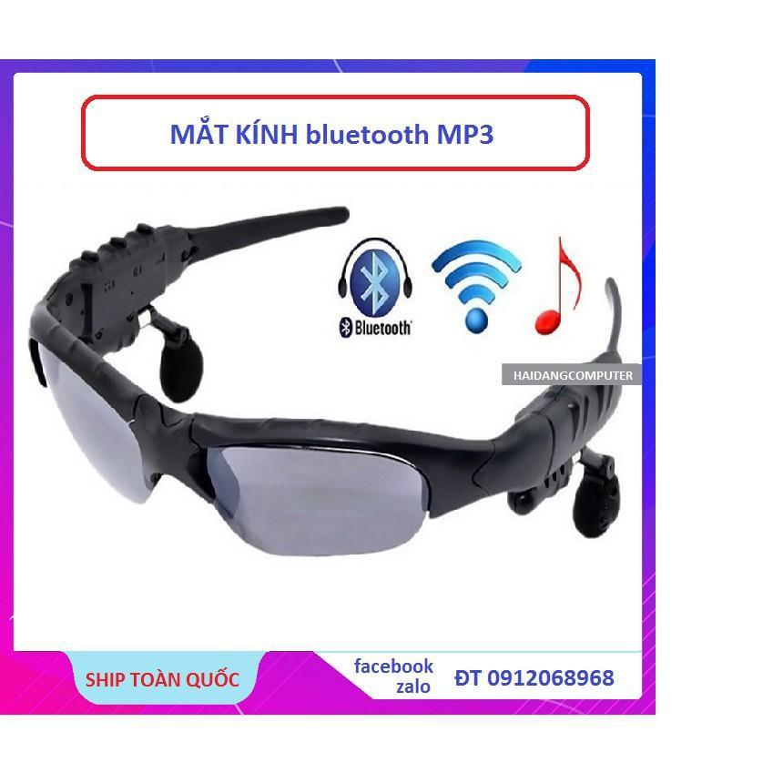 [Freeship toàn quốc từ 50k] Mắt kính bluetooth mp3