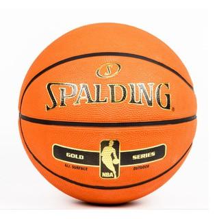 Bóng rổ Spalding NBA Gold Series All Surface Outdoor Size 7 phù hợp chơi ngoài trời trên mọi mặt sân
