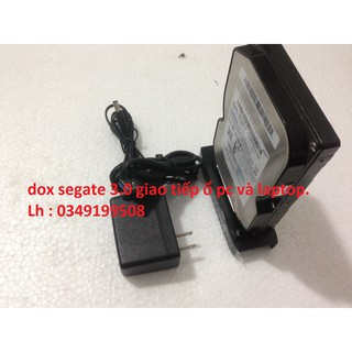 DOCK Seagate 3.0 Gắn ổ cứng dùng được cho cả laptop và máy bàn, hàng chính hãng mới.