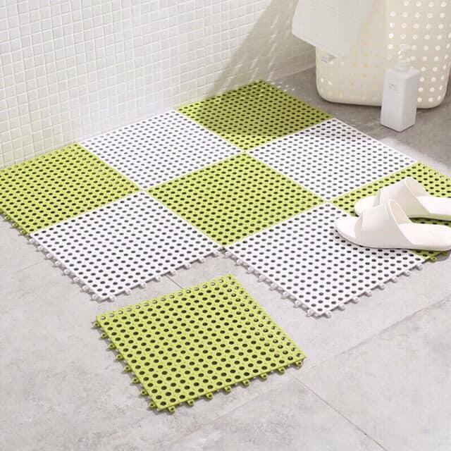 Thảm nhựa chống trơn trượt trong nhà tắm
