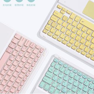 Hình ảnh GOOJODOQ Bộ bàn phím + chuột máy tính không dây bluetooth nhiều màu sắc nhỏ gọn cho iPhone/ iPad (có bán lẻ bàn phím)-4