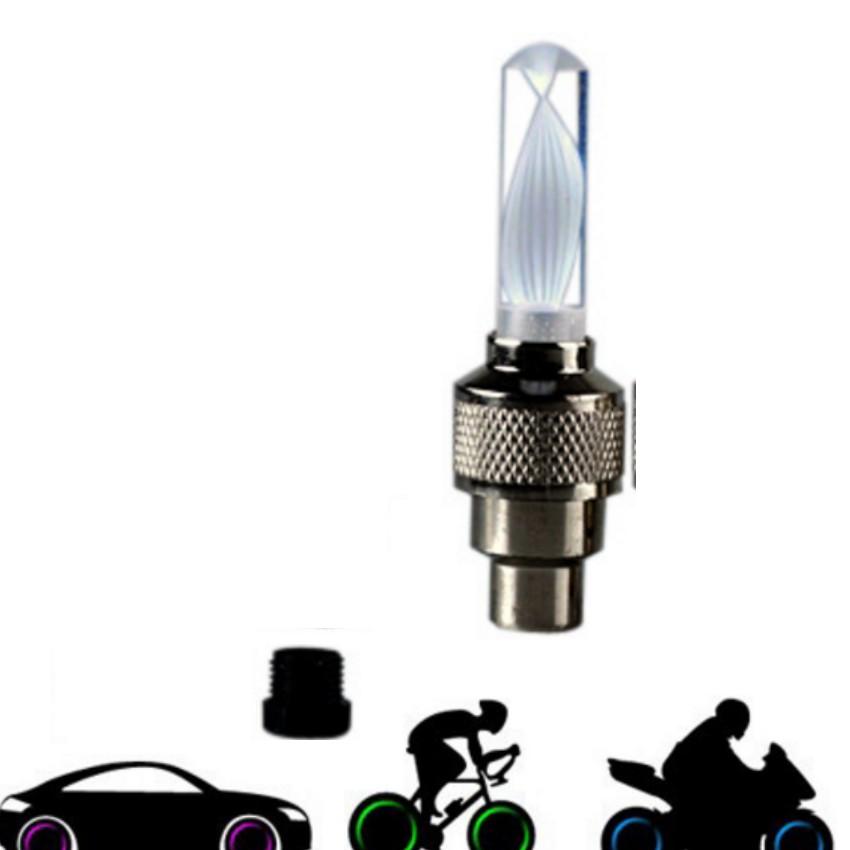 Đèn Led Gắn Van Xe Đổi Mầu Trang Trí Và An Toàn Xe HQ206307-1