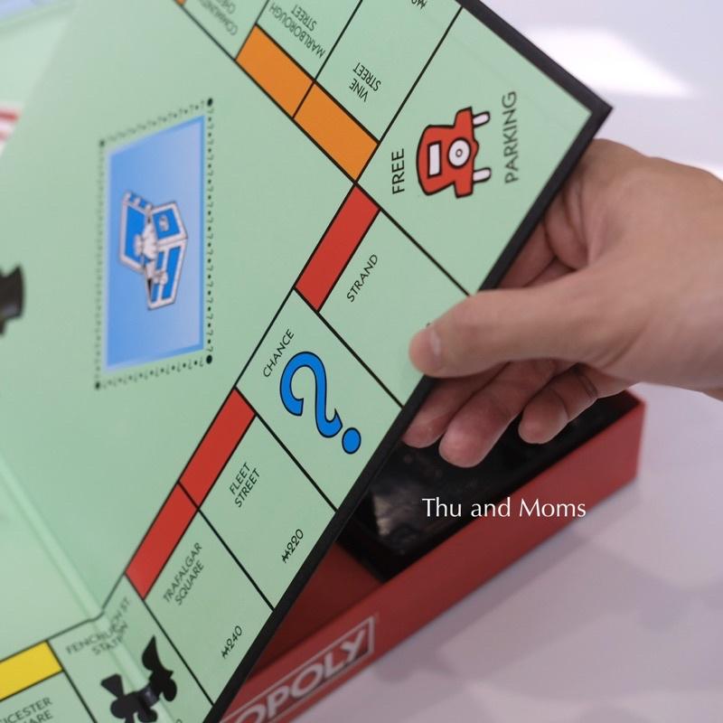 Cờ tỷ phú Monopoly chính hãng Hasbro Mỹ C1009 - Cở tỉ phú 8t+ - Cờ tỷ phú cơ bản