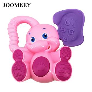 joomkey Shaking Rattles Bell Non-toxic for Baby Safe Plastic Cartoon Elephant 12*12.5 cm Excellent