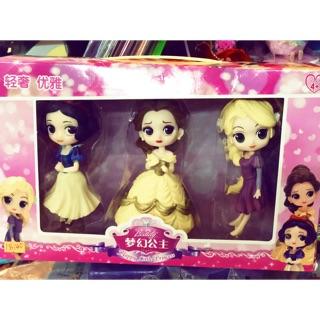 Bộ 3 búp bê công chúa Ms00140110