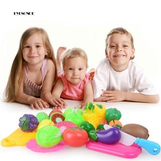 ♕13Pcs/Set Simulation Kitchen Cooking Utensils Tableware Tools Children Kids Toy