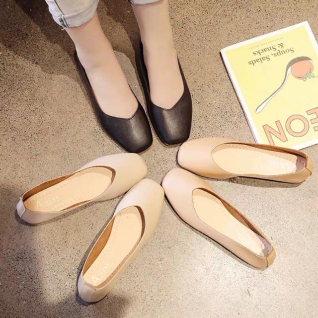 (ORDER) Giày búp bê da mềm BIG SIZE 35-43