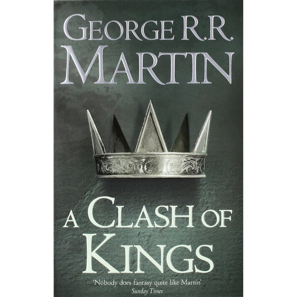 Truyện Ngoại Văn (Tiếng Anh): A Clash Of Kings Book 2 Of A Song Of Ice And Fire
