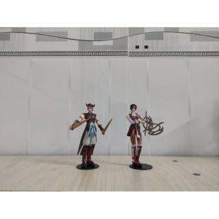 Mô hình 2 nhân vật tam quốc chính hãng