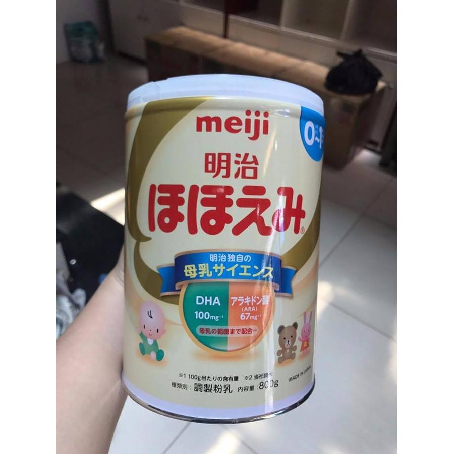 Sữa Bột Meiji Số 0 800g