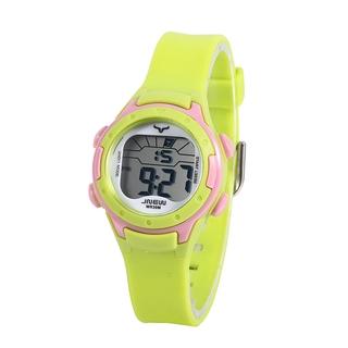 Đồng hồ trẻ em nữ đa chức năng ánh sáng đầy màu sắc đồng hồ điện tử trẻ em đồng hồ nam thể thao chống thấm nước