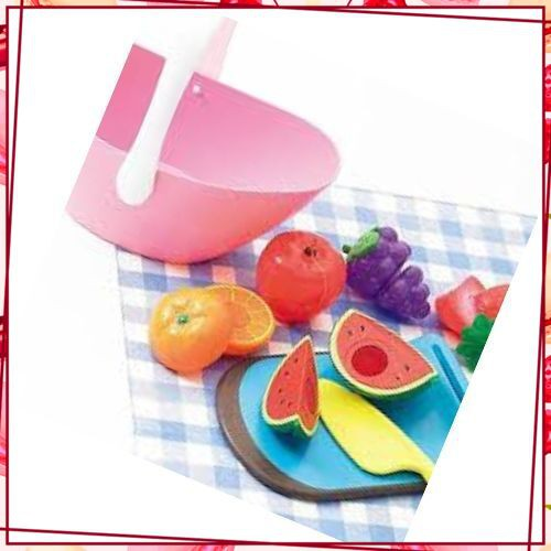 (Sale_Sale) Sản phẩm Giỏ trái cây 8 món Safe & Soft Toyroyal