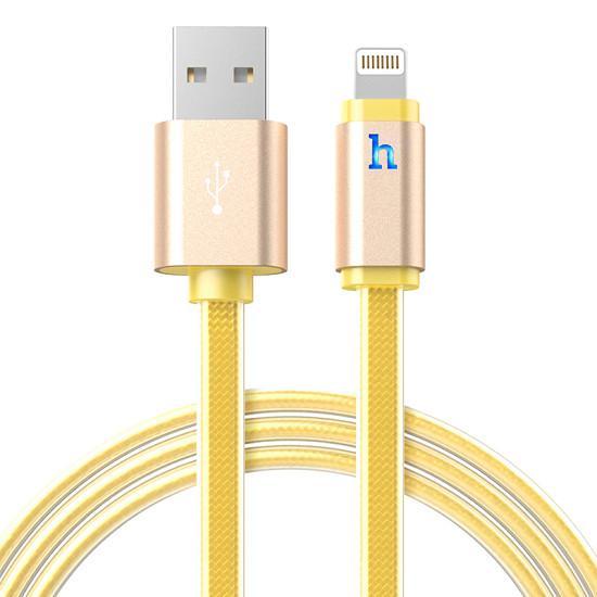 Dây sạc iPhone dài 2m có đèn led báo hiệu UPL 12 Bảo hành 03 tháng 1 đổi 1