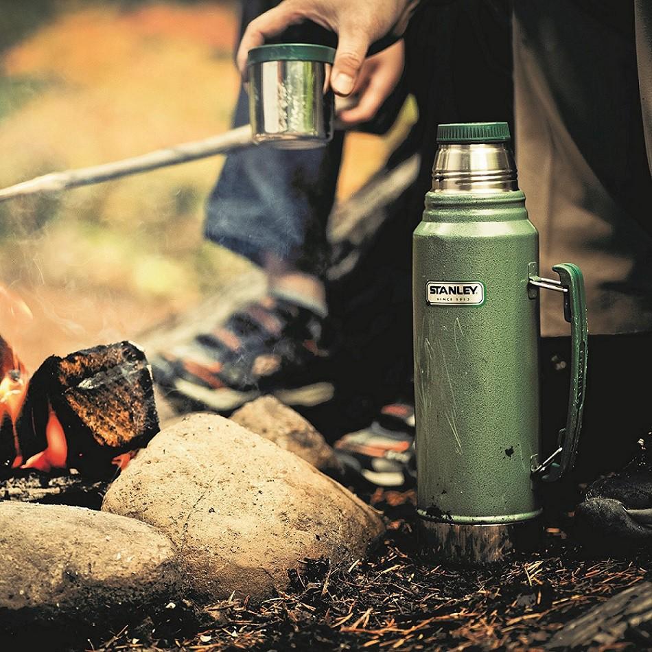 Bình giữ nhiệt Stanley cắm trại du lịch phích bình giữ nhiệt Mỹ 1L Campout A137 tại Khánh Hòa