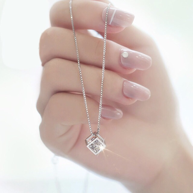 Dây chuyền bạc 925 Ý nữ phong cách Hàn Quốc sale giá cực rẻ - 3230883 , 372017260 , 322_372017260 , 145000 , Day-chuyen-bac-925-Y-nu-phong-cach-Han-Quoc-sale-gia-cuc-re-322_372017260 , shopee.vn , Dây chuyền bạc 925 Ý nữ phong cách Hàn Quốc sale giá cực rẻ