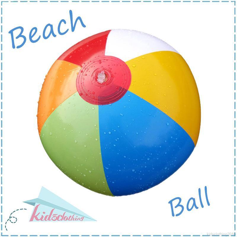 Quả bóng bơm hơi nhiều màu sắc cho bé chơi dưới nước