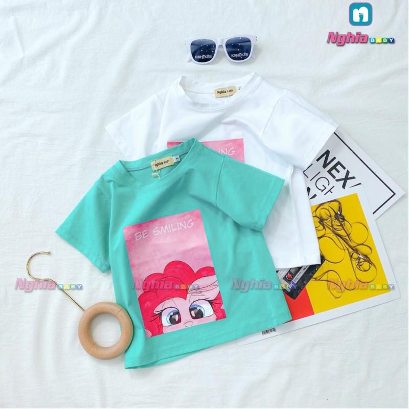 Áo thun cotton NGHĨA BABY H1 dành cho bé trai và bé gái!
