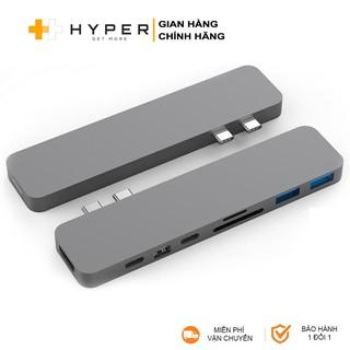 Cổng chuyển HyperDrive 8-in-2 Pro USB-C Hub cho Macboook Pro 13/15/16inch 2016-2017-2018-2019 - GN28D - Hàng Chính Hãng