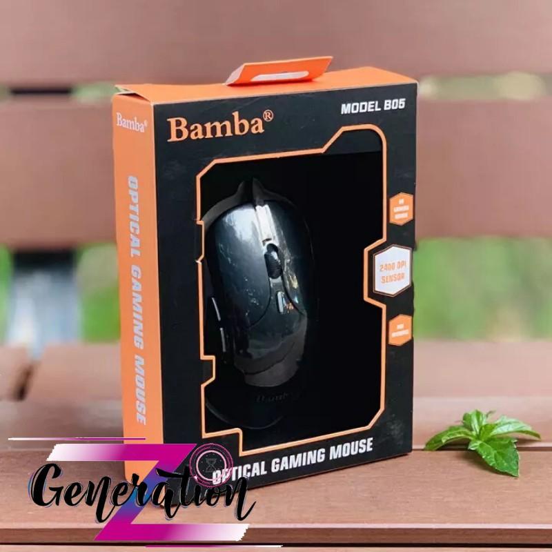 Chuột Gaming Bamba B05 viền Led RGB - Chuột quang led Bamba B05 viền Led RG