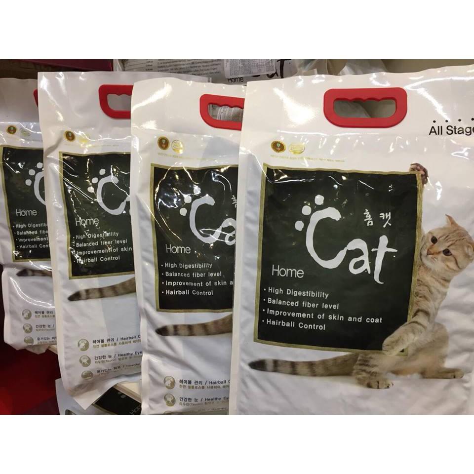 Thứ ăn cho mèo HOMECAT Hàn Quốc (Túi chiết 1kg)