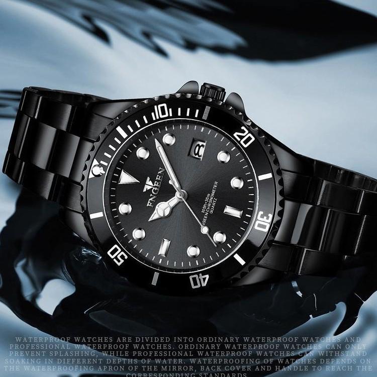 Đồng hồ nam chính hãng FNGEEN cực đẹp, giảm giá sốc, dây thép bền màu ( Tặng kèm tỳ hưu, tháo mắc, Mã: AF06 )