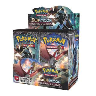 Sun and Moon Burning Shadows Booster Box 36 Packs Pokemon Trading Cards Sealed English