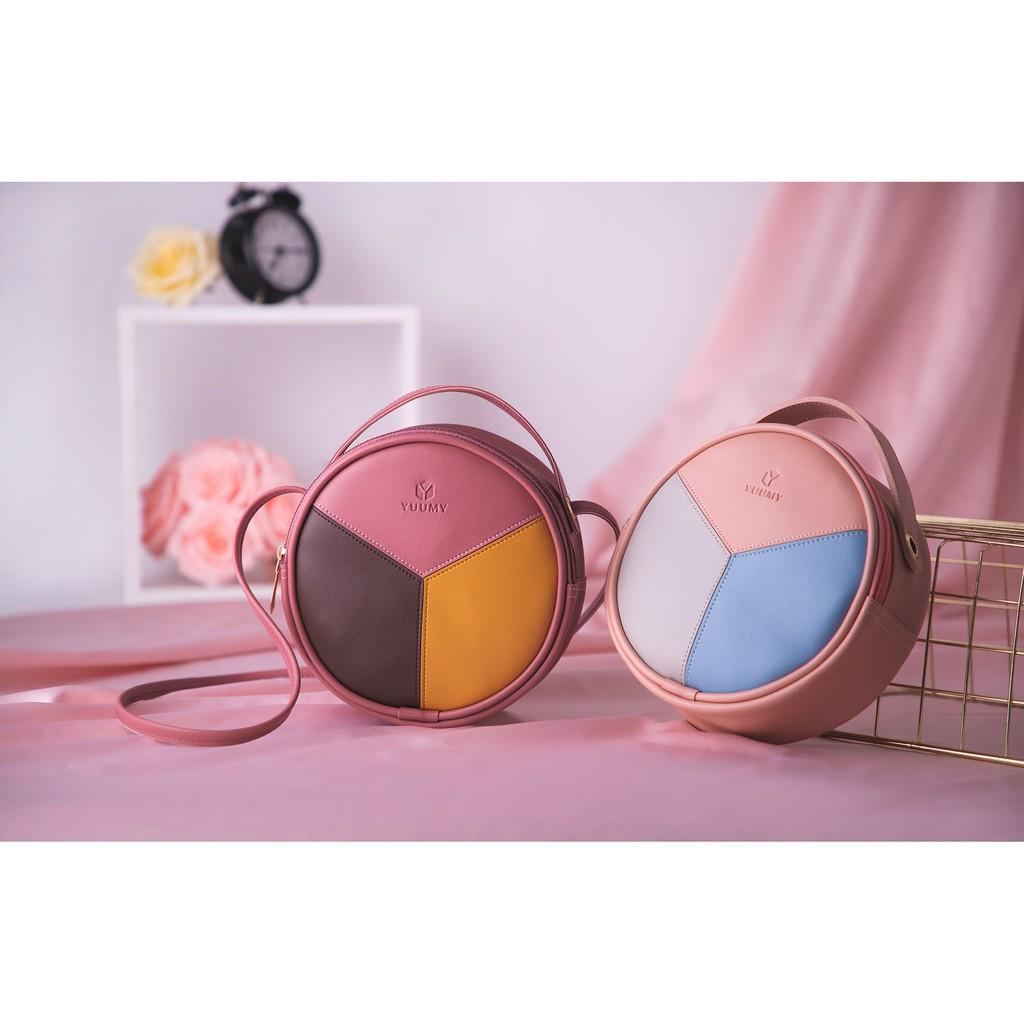 Túi đeo chéo thời trang nữ YUUMY YN45 nhiều màu