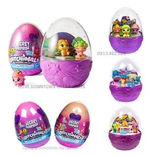 Trứng to Secret Suprise 12cm màu HỒNG & CAM – Hatchimals VNXK