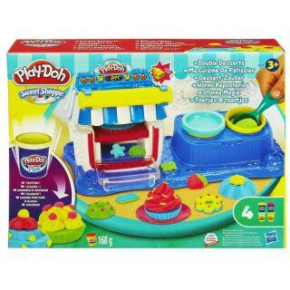 BỘ ĐỒ CHƠI BỘT NẶN TRÁNG MIỆNG NGỌT NGÀO Play-Doh Double Desserts