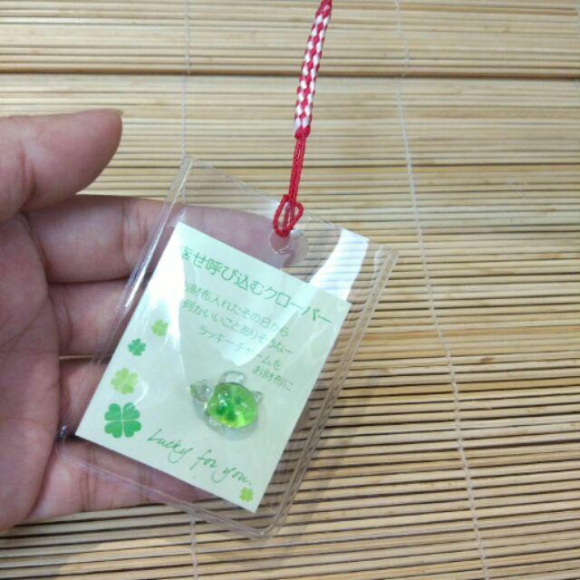 Bùa may mắn pha lê rùa và cỏ 4 lá để ví - 2682540 , 316639202 , 322_316639202 , 105000 , Bua-may-man-pha-le-rua-va-co-4-la-de-vi-322_316639202 , shopee.vn , Bùa may mắn pha lê rùa và cỏ 4 lá để ví