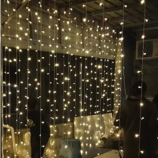 Rèm Đèn Led 300 Bóng 3m X 3m Trang Trí Buổi Tiệc - hình 4