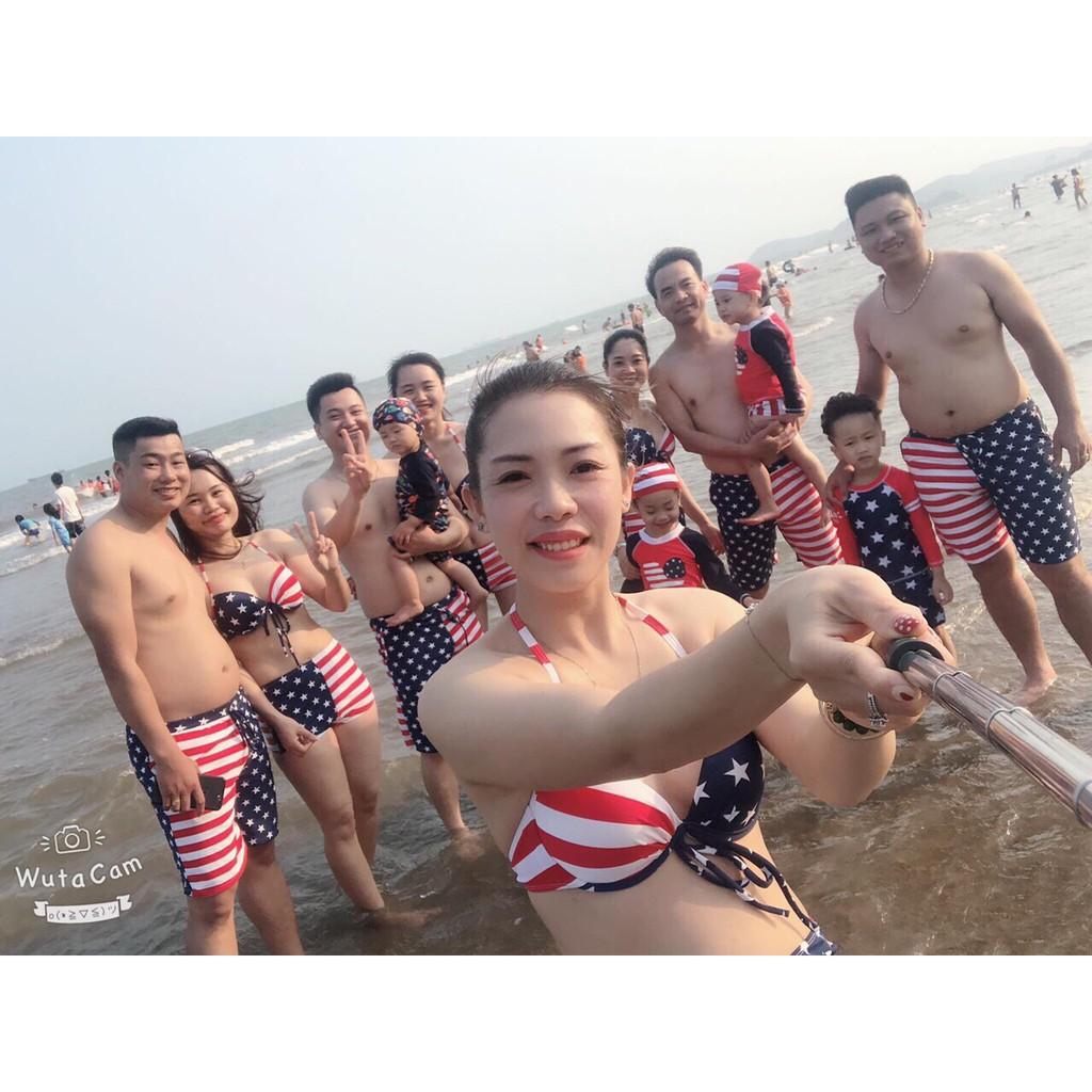 [FreeShip Từ 50K] Bikini - Đồ Bơi Nữ Hai Mảnh Mặc Đi Biển QAL-BI-012