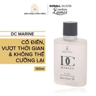 Nước hoa Dubai chính hãng dành cho nam Dorall Collection DC Marine hương thơm Cổ Điển vượt thời gian 100ml