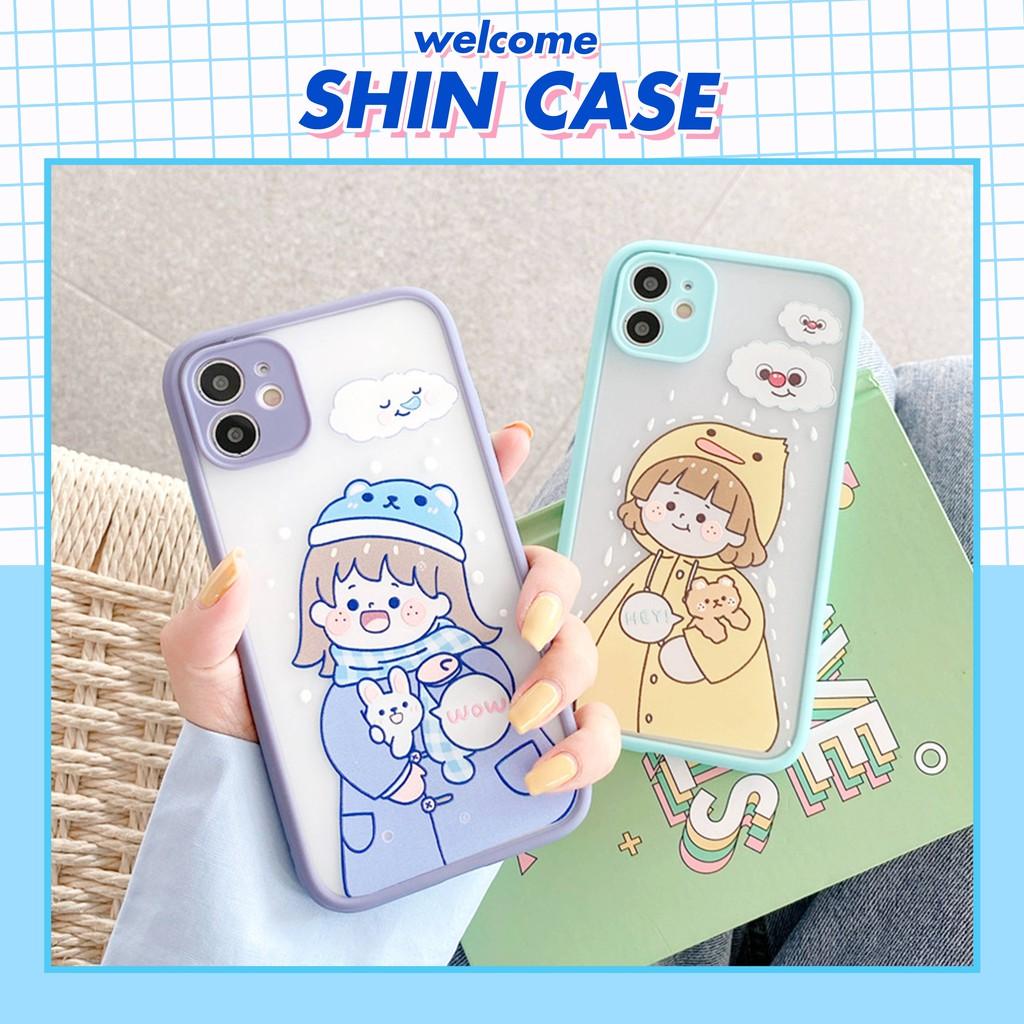 Ốp lưng iphone Cô bé mùa đông bảo vệ camera 5/6/6plus/6s/6splus/7/7plus/8/8plus/x/xs/xsmax/11/11pro/11promax – Shin Case