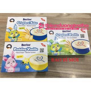 [Chính Hãng Giá Sốc] Cháo sữa Burine Vani Và Bích Quy Và Pudding Vani [1 Lốc 6 Hủ] [6x50g] 300g Date 5-6 2021 thumbnail