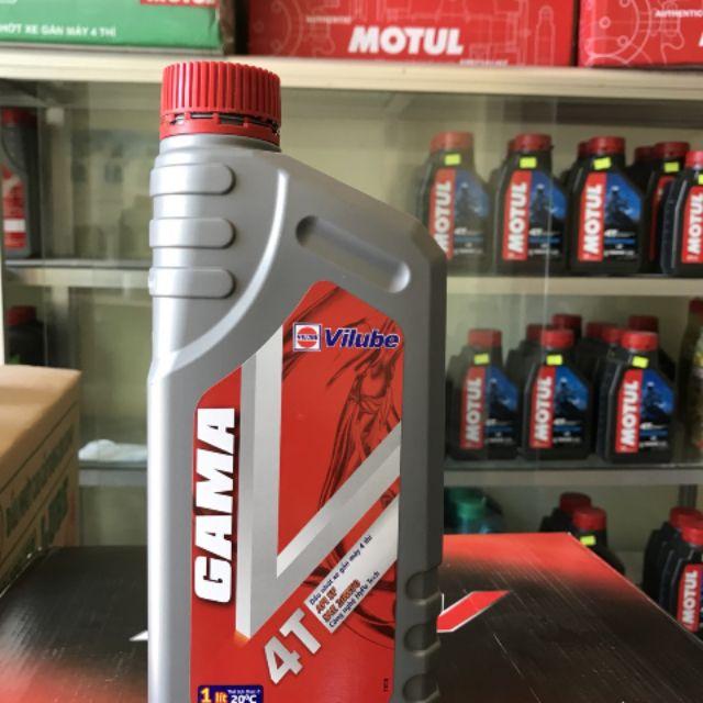 Dầu nhớt GamaV API SF SAE 20W50 dung tích 0.8 lít là dầu nhớt chuyên dùng cho các loại xe máy 4 thì ( xe số).